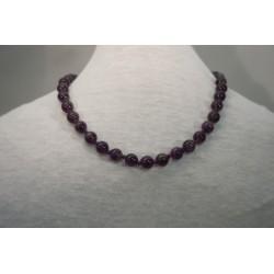 Halskette - Amethyst 8x42