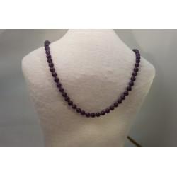 Halskette - Amethyst 8x80