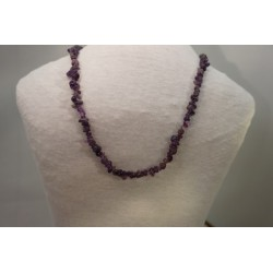 Halskette - Amethyst Splitter 80