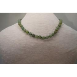 Halskette - Aventurin 8x42