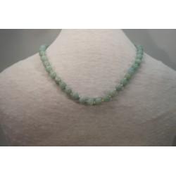 Halskette - Amazonit 8x42