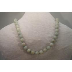 Halskette - Amazonit 10x80