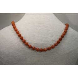 Halskette - Jaspis 8x80