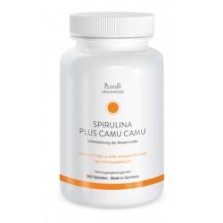 Spirulina plus Camu Camu Tabletten