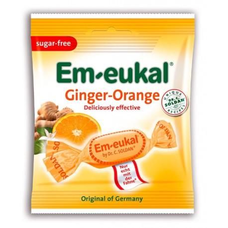 Dr. C. SOLDAN Em-eukal® Ginger-Orange, zuckerfrei