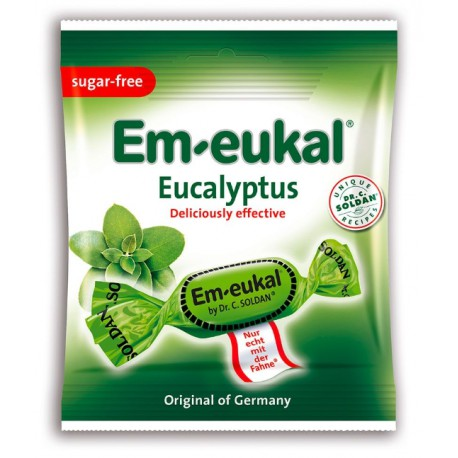 Dr. C. SOLDAN Em-eukal® Eucalyptus, zuckerfrei, 50g