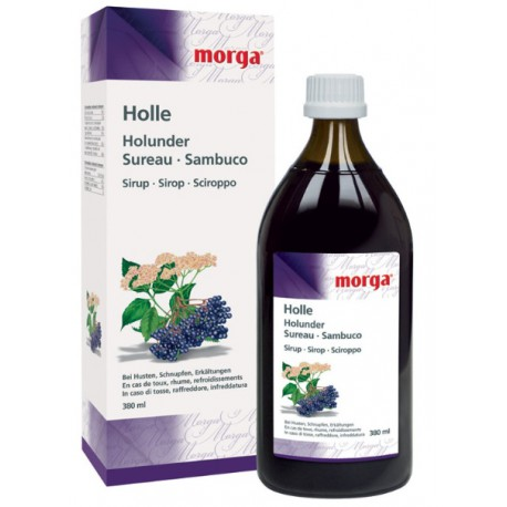 MD5 - Holle Holunder/Husten, Sirup 380 ml
