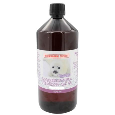 Wasserstoffperoxid-Lösung 4,9 % - 1 Liter