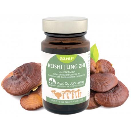 Bio Ganadermin®, Reishi Pilzextrakt, 60 Kapseln