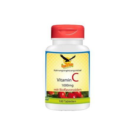 Vitamin C mit Hagebutte + Bioflavonoide