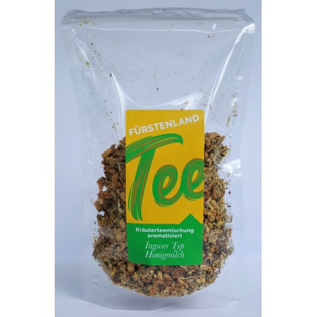 Kräutertee: Ingwer Typ Honigmilch 100g