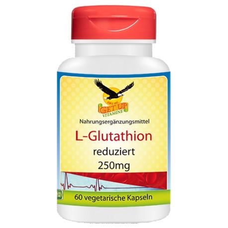L-Glutathion, 60 Caps, vegan